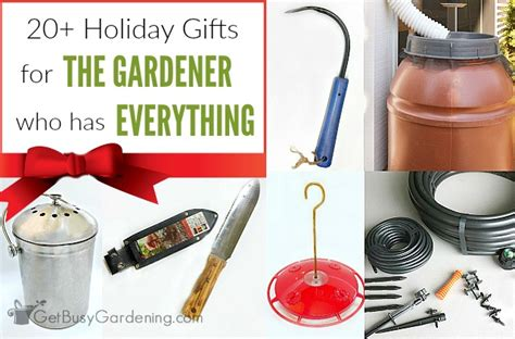 20 fabulous gifts for the gardener who has everything