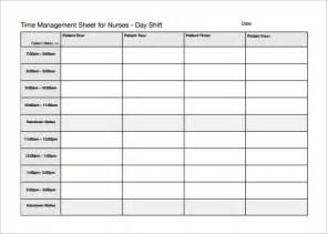 Nursing Roster Templates by Nursing Schedule Template 8 Free Sle Exle Format