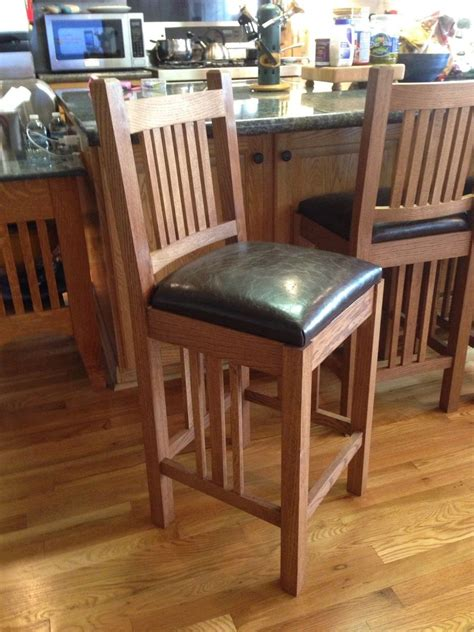 Arts And Crafts Style Bar Stools by Custom Arts Crafts Bar Stools By Ewoodshop Custommade