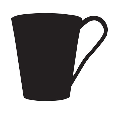 coffee cup silhouette png silhouette cup drink 183 free vector graphic on pixabay