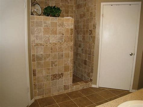 Shower Stalls Without Doors Pics Of Doorless Showers Doorless Walk In Shower Wall For Walk In Shower Favorite Places