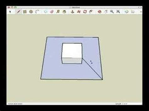 creating 3d templates using google sketchup youtube