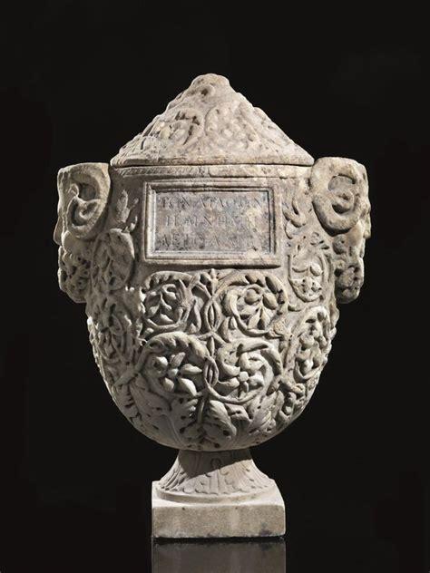 antico vaso a due anse urna cineraria asta reperti archeologici pandolfini