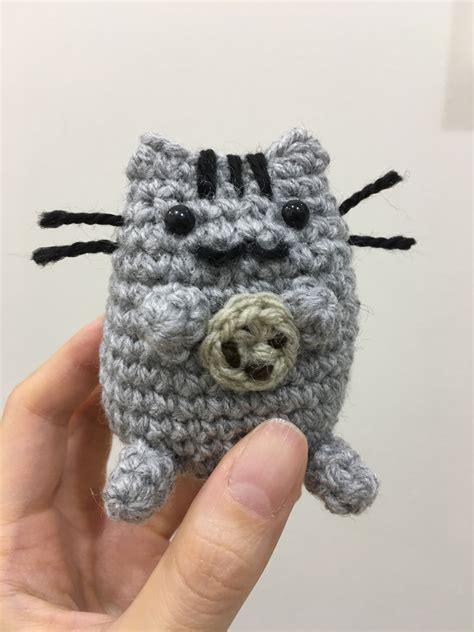 pusheen knitting pattern crochet pusheen cat crochet project by p