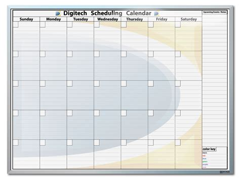 blank month at a glance calendar calendar template 2016