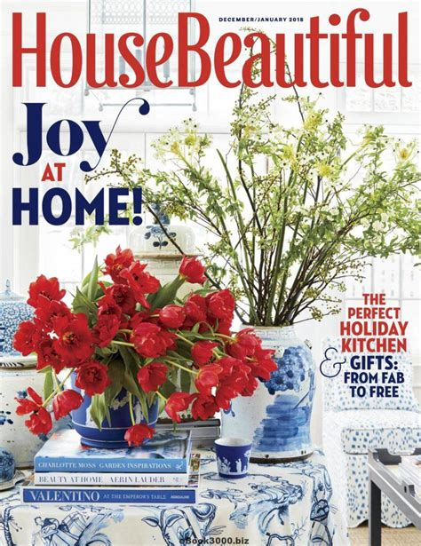 house beautiful february 2017 house beautiful usa december 2017 january 2018 free pdf