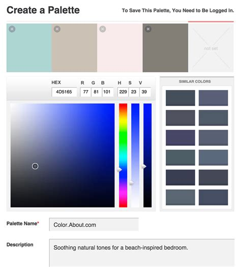 interior design color palette generator see the top color scheme generators
