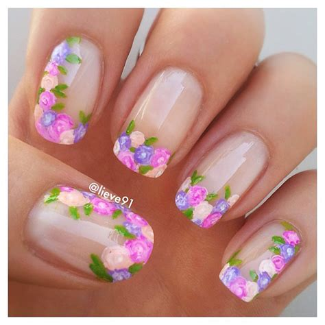 how to do watercolor nail art