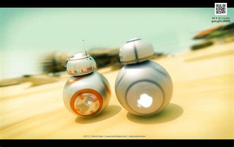 membuat robot bb 8 le robot bb8 de star wars vii redessin 233 quot apple style quot par