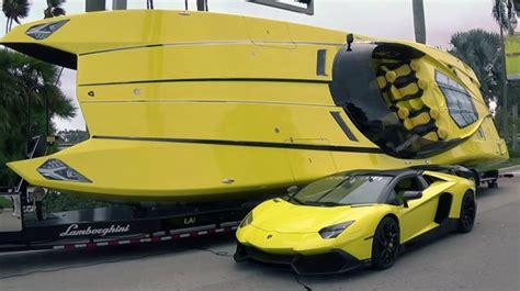 lamborghini aventador superveloce boat aventador lp 720 4 photos autos post