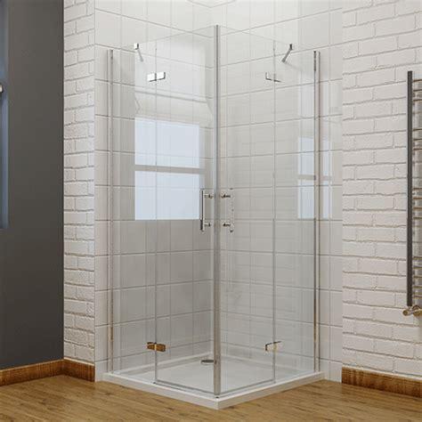 corner entry shower door frameless hinge corner entry shower enclosure glass screen