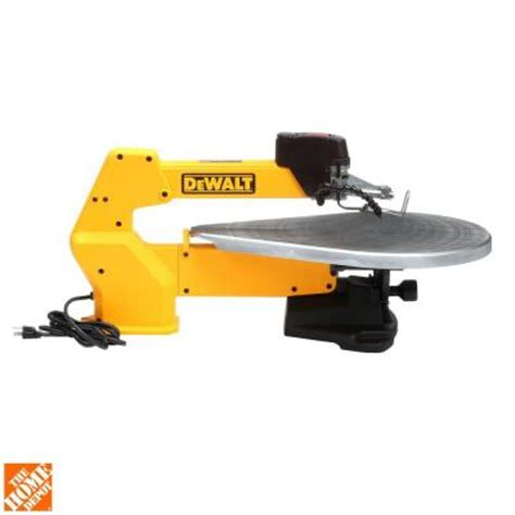 dewalt 20 in variable speed scroll saw dw788 the home depot