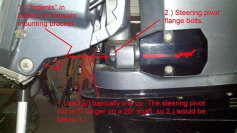 buitenboordmotor kantelen lock n haul transom saver fitup answers