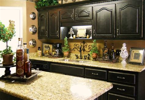 Kitchen Counter Tops Ideas by Kitchen Counter Decor Ideas Buddyberries Com