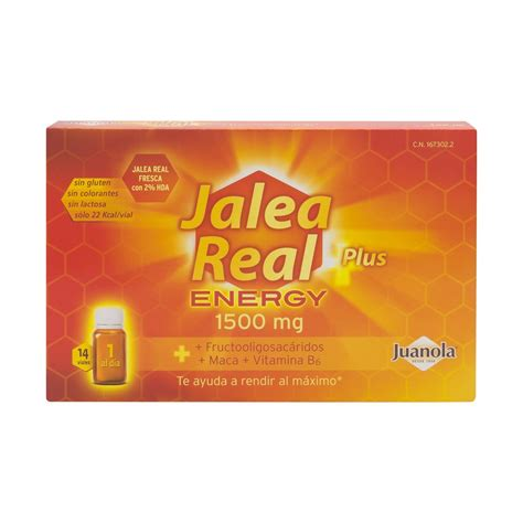 Real Energy by Juanola 174 Jalea Real Energy Plus 14 Viales Promofarma