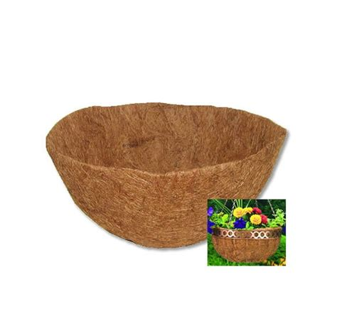 Coconut Planter Liners by Clh16m Cobraco 16 Quot Pre Molded Coco Liner By Planter Liners
