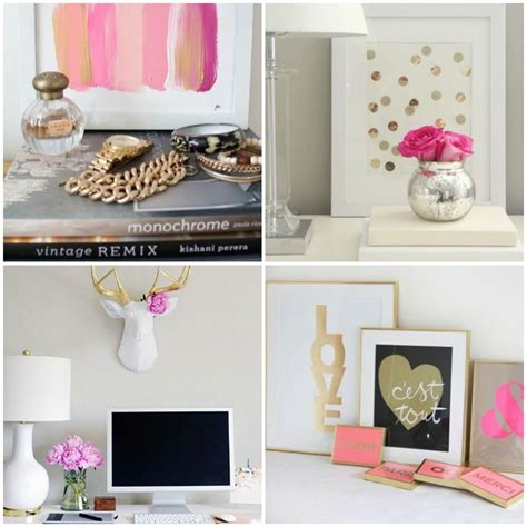 Gold Room Decor 1000 Ideas About Pink Gold Bedroom On Pinterest Pink Gold Nursery Bedrooms And Pink Bedroom