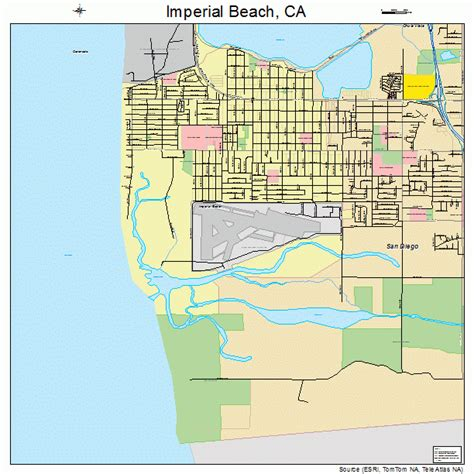 map of imperial california imperial california map 0636294