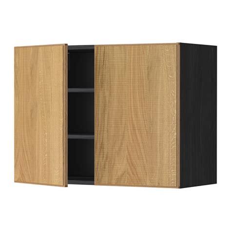 Türen Für Wandschrank by Metod Wandschrank Mit B 246 Den Und 2 T 252 Ren Holzeffekt