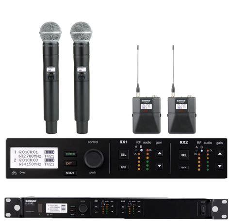 Mic Wireless Shure U 8888 shure ulxd4d digital wireless mic system rentals rentex