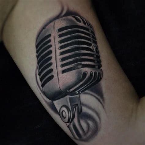 microphone realistic tattoo graffiti microphone drawings old school microphone tattoo