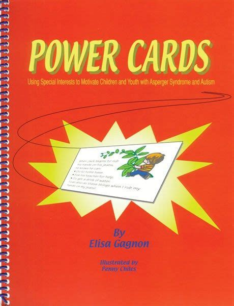 power cards autism template power cards visual strategies cards