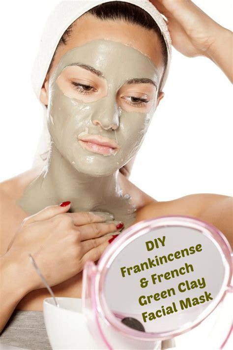 French Green Clay Mask Recipe   DIY Skin Tightening Mask