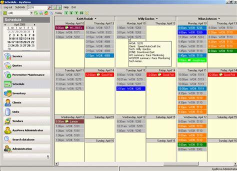 AyaNova Service Management & Workorder Software Free