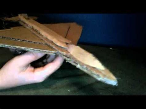 How To Make A Model Airplane Out Of Paper - cardboard jet plane model 1