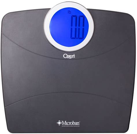 ozeri bathroom scale ozeri weightmaster digital bathroom scale with microban antimicrobial product