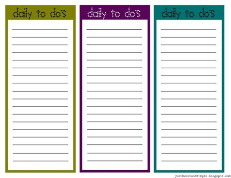 diy to do list template to do list template search diy crafts