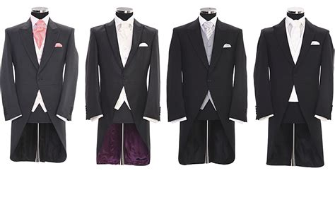 Attire Wedding Suit Hire by Tails Classic Attire Menswear Formal Suit Hire