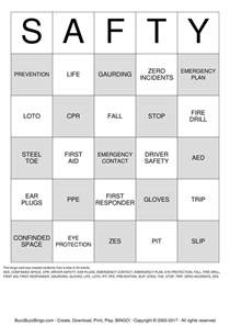 safety bingo cards to download print and customize