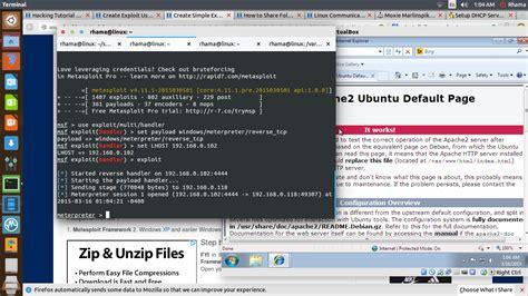 tutorial hack sederhana tutorial sederhana hack windows 7 dengan metasploit