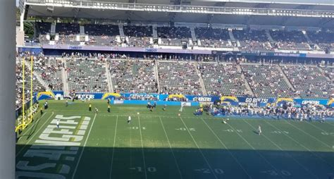 san diego chargers attendance the chargers preseason attendance suggests they re
