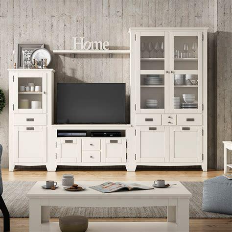 muebles salon blancos