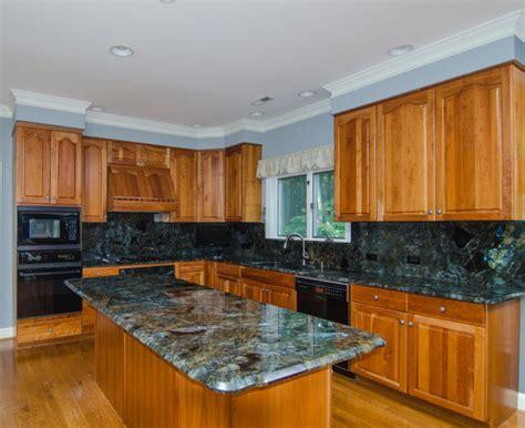 Kitchen Island With 4 Stools lemurian blue labradorite kitchen traditional kitchen