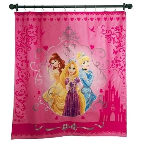 disney fabric shower curtain disney princess fabric shower curtains 72 quot x 72
