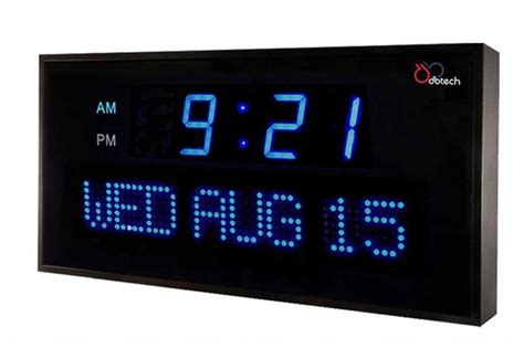 digital wall clocks electric wall clock a great ornament knowledgebase