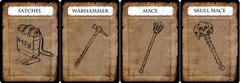 rpg item card template working on a large set of item and equipment cards for