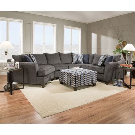 transitional sectional sofa simmons upholstery 6485 transitional sectional sofa with wood legs dunk bright furniture