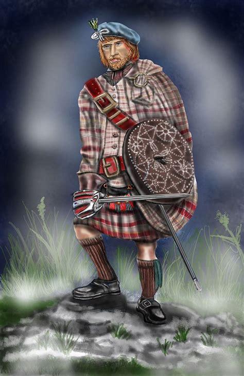scottish highlander warrior image gallery scottish highlanders 1745