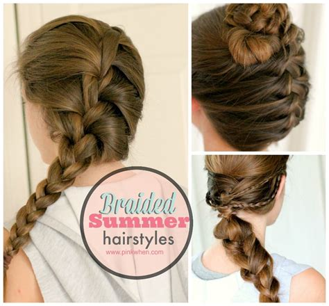 braided hairstyles summer braided summer hairstyle ideas pinkwhen