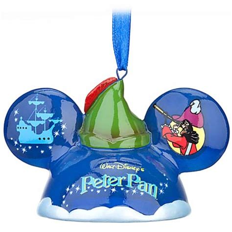 Pan Ornament - your wdw store disney ears ornament 40th anniversary