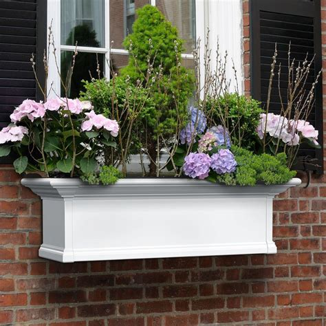 outdoor window box window boxes pots planters garden center the home