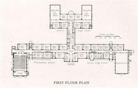 high school floor plan elementary school building design plans elementary
