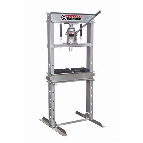 10 ton frame floor 20 ton h frame industrial heavy duty floor shop press