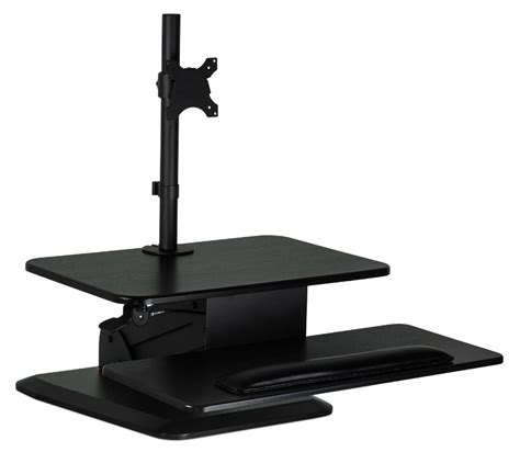 Mountit Standing Desk Converter With Monitor Mount Review Sit Stand Desk Reviews