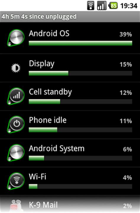 android os draining battery the pickle jar wifi battery drain on cm6 1 1 on my htc desire
