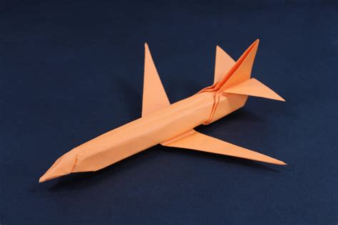 Aeroplane With Paper - simplified 737 paper airplane